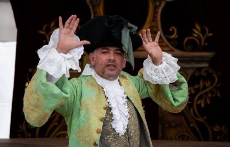 Les Lunaisiens à Versailles