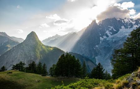 Photo illustration Alpes Italiennes